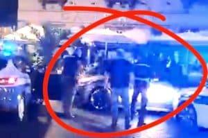 Spari di avvertimento in piazza Trieste e Trento, ma l'auto non si ferma e fugge