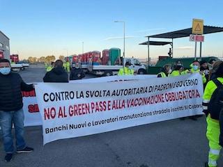 Obbligo green pass in Campania: protestano addetti alla manutenzione stradale, ok i mezzi pubblici