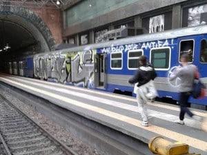 Stazione di Montesanto della Linea Cumana di Napoli.