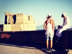 Il lungomare di Napoli. Foto di Angela Marino