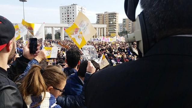 Papa Francesco a Scampia