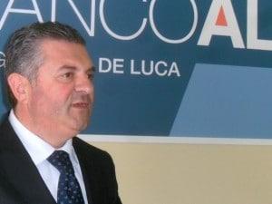 L'ex sindaco di Agropoli Franco Alfieri.