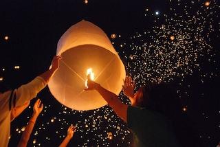 Capodanno 2020, a Casamarciano lanterne cinesi al posto dei botti illegali