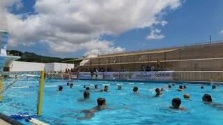 Riapre la piscina della Mostra d'Oltremare, riqualificata coi fondi delle Universiadi 2019
