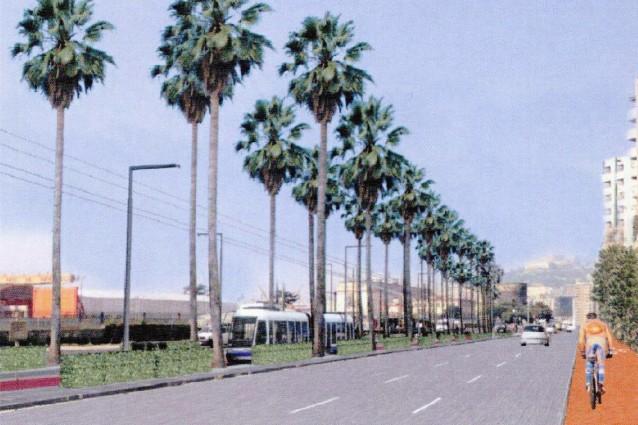 Il progetto di via Marina