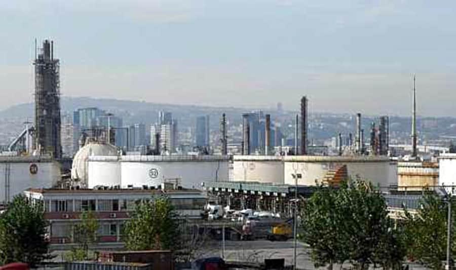 L'ambito 13 area petroli di San Giovanni, raffineria