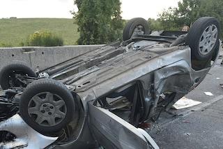 Incidente sulla circumvallazione esterna: si ribalta Suv, Giuseppe Croce muore a 20 anni