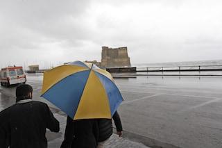 Meteo Napoli e Campania: fine settimana con le nuvole, poi torna la pioggia