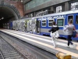 Stazione di Montesanto della Circumflegrea di Napoli