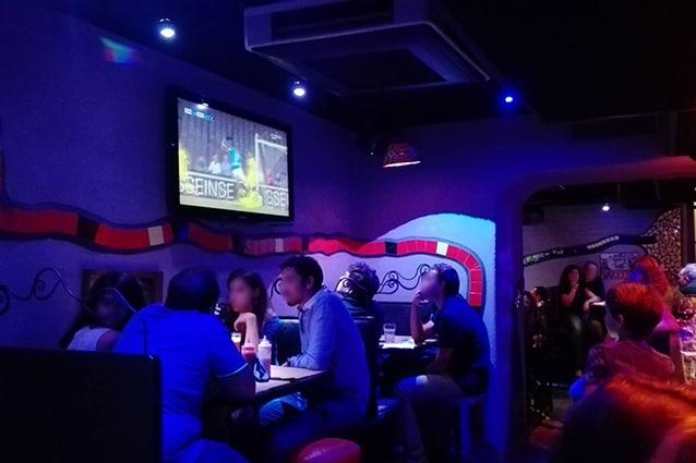 Una delle sale del Joker pub