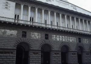 Il San Carlo prima del restauro