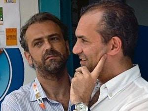Claudio De Magistris col fratello Luigi, attuale sindaco di Napoli