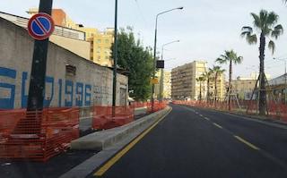 Via Marina sarà ultimata il 30 settembre dopo 5 anni, invece di 5 mesi e mezzo