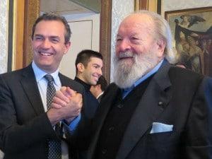 Bud Spencer e Luigi de Magistris