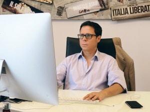 Il direttore di Fanpage.it, Francesco Piccinini.