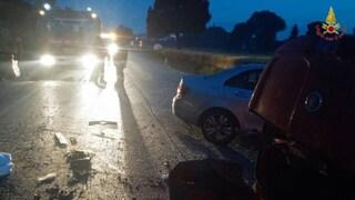 Incidente frontale tra due auto a Marano: bimbo di due anni portato d'urgenza in ospedale