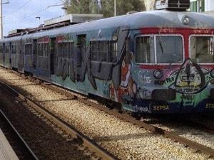 Convoglio della linea Cumana di Napoli