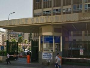 L'Ospedale Santobono di Napoli.