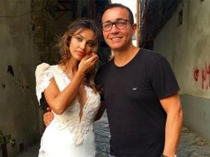 Madalina Ghenea and Gino Sorbillo