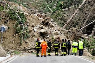 Maltempo a Capri, pioggia di detriti da un costone: nella stessa zona una frana nel 2014