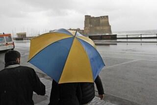 Allerta meteo su Napoli e Campania prorogata fino alle 14 di martedì 8 ottobre