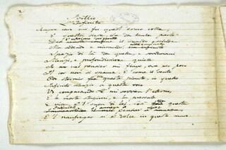 Alla Biblioteca Nazionale il manoscritto autografo di Giacomo Leopardi per il #200infinito