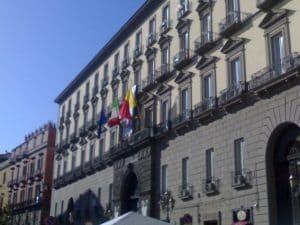 Palazzo San Giacomo, sede del Comune di Napoli