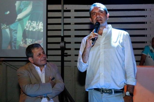 Sergio D'Angelo e Luigi De Magistris