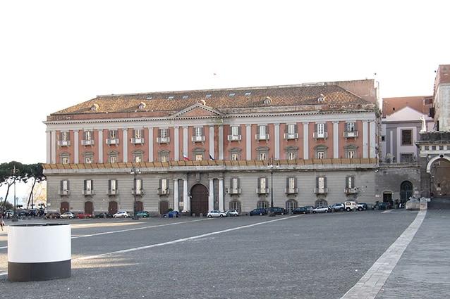 Palazzo Salerno a Napoli