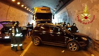 Incidente nella galleria Montepergola, chiuso tratto del raccordo Salerno-Avellino