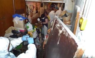 Eboli, dramma della solitudine: anziana viveva tra i rifiuti col cane morto