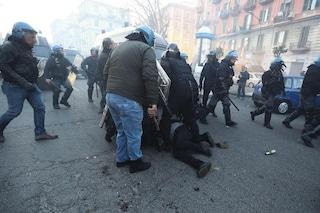 Scontri al corteo anti Salvini a Napoli, al via processo ad attivisti. Annunciato sit in di protesta