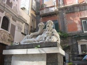La statua del Dio Nilo
