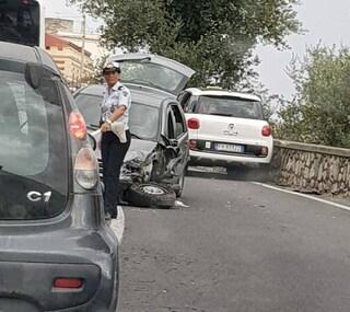 Incidente stradale a Battipaglia: quattro feriti, due sono in gravi condizioni