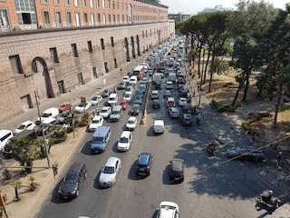 Via Acton, riprendono lavori della metro: il nuovo dispositivo traffico