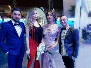 Ciro Guarente e Heven invitati al matrimonio di Alessia Cinquegrana (Facebook).