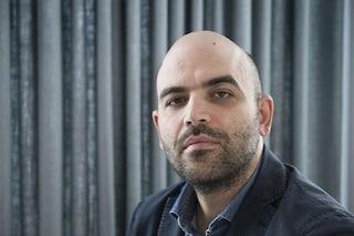 Roberto Saviano a Napoli sulla Open Arms per difendere le Ong