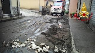 Maltempo, frana tra Coperchia e Capezzano (Salerno): strade e scuole chiuse