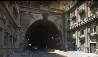 Napoli, riaperta la Galleria Laziale nei due sensi di marcia, traffico verso la normalità
