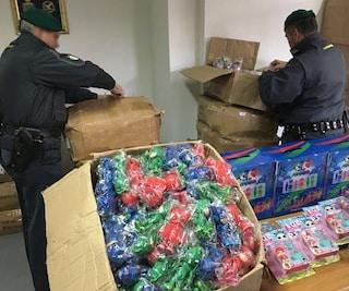 Pasqua 2019, sequestrati 2 milioni di giocattoli pericolosi per la salute