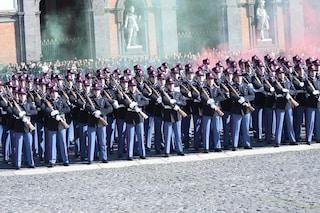 232° Giuramento allievi Nunziatella a Napoli il giorno 16 novembre
