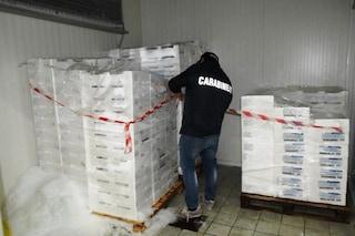 Chili di pesce, pasta e verdure congelate sequestrati in due ristoranti a Forio d'Ischia