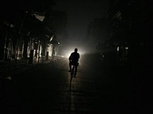Blackout (Immagine di repertorio)
