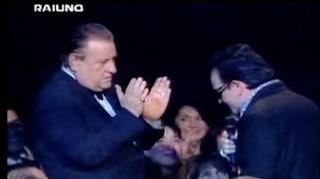 Festival di Sanremo, quando Bono Vox si inchinò a Mario Merola