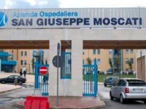 L'ospedale San Giuseppe Moscati di Avellino.