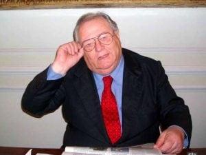 Il giornalista e politico Luigi Necco, morto a 83 anni