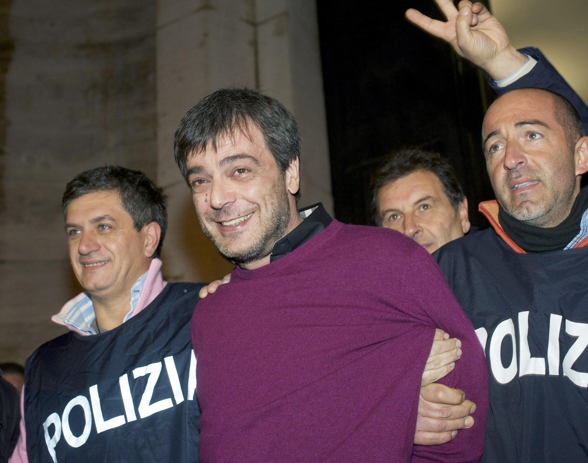 L'arresto di Antonio Iovine nel 2010