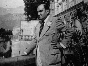 Enrico Caruso a Napoli. Anno 1920