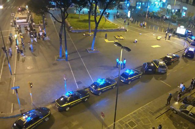 La maxi rissa esplosa in piazza Principe Umberto a Napoli
