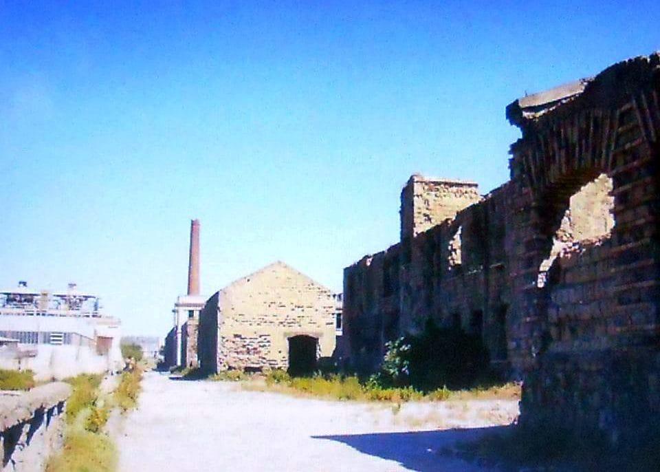 La vecchia fabbrica ex Corradini